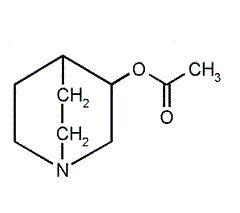Химическая формула Ацеклидина