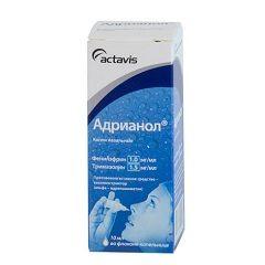 Назальные капли Адрианол для взрослых