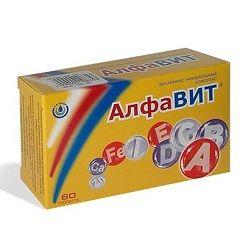 Алфавит витамины - минеральный поливитаминный комплекс