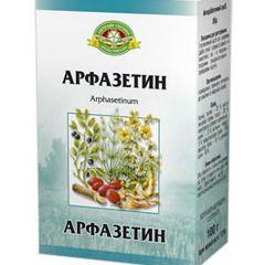Арфазетин в упаковке