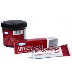 Аргосульфан в упаковке