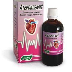 Капли Атероклефит для сердца и сосудов