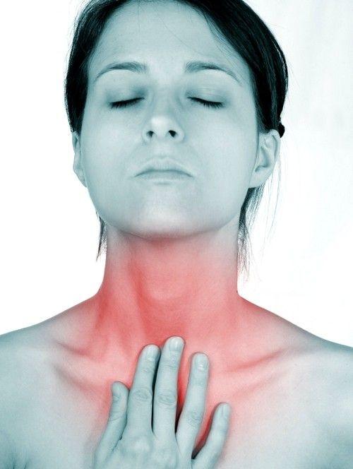 Purulenta, forma aseptica tiroidită acută detectată ca urmare a deteriorării mecanice a prostatei, sau prin radiație