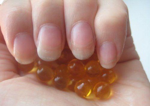Рыбий жир – источник витаминов для ногтей