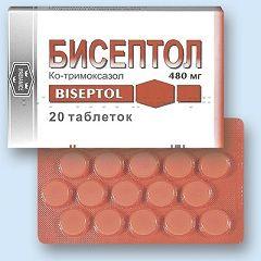 Бисептол в таблетках по 480 мг