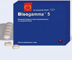 Таблетки Бисогамма 5 мг