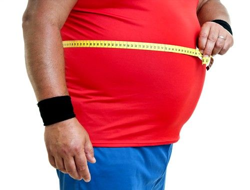 Osobe sa prekomjerne težine opterećenje na donji dio leđa prevelika