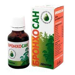Бронхосан - средство для лечения заболеваний дыхательных путей