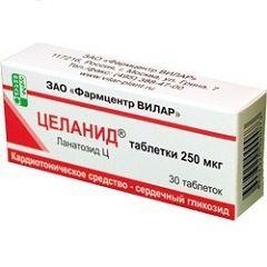 Кардиотонический препарат Целанид