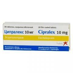 Ципралекс в таблетках 10 мг