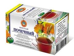 Почечный чай для лечения цистита