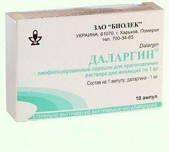 Противоязвенный препарат Даларгин