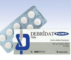 Debridat tableta 200 mg