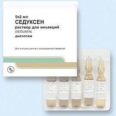 Seduksen - unul dintre medicamente pentru tratamentul delirium tremens