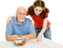 Старческая деменция свойственна людям старше 65 лет