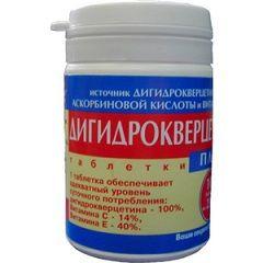 Ангиопротекторное средство Дигидрокверцетин
