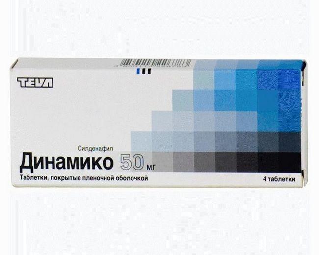 Динамико - препарат, улучшающий эрекцию
