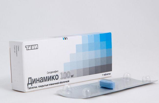 Динамико в таблетках