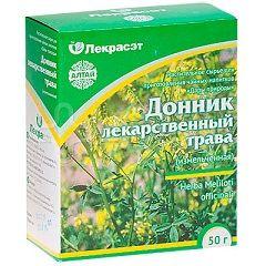 Измельченная трава Донника лекарственного