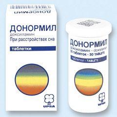 Таблетки Донормил от расстройства сна