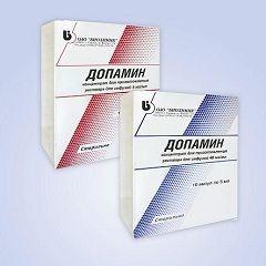 Кардиотонический препарат Допамин