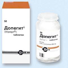 Таблетки Допегит 250 мг