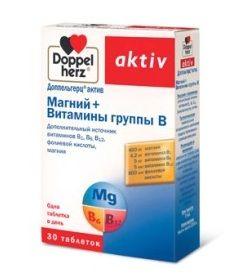 Витамины Доппельгерц Актив Маний + витамины группы B