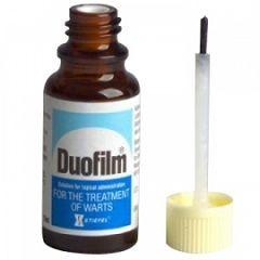 Лекарственная форма Дуофилма - раствор для наружного применения