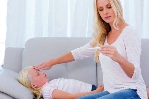 S porastom temperature, dijete može doći do konvulzije