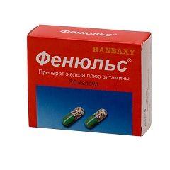 Фенюльс - лекарство для лечения анемии