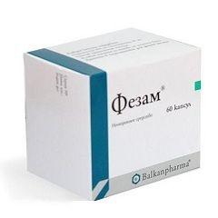 Ноотропный препарат Фезам
