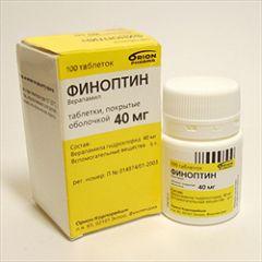 Таблетки Финоптин 40 мг