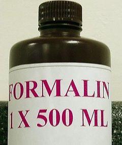 Форма выпуска Формалина - раствор для наружного применения