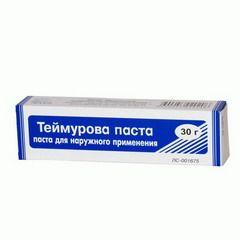 Гексаметилентетрамин входит в состав пасты Теймурова