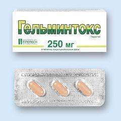 Противогельминтное средство Гельминтокс