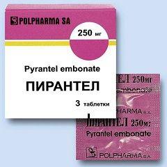 Пирантел - один из препаратов для лечения гельминтоза