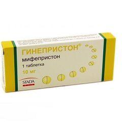 Антигестагенное средство Гинепристон
