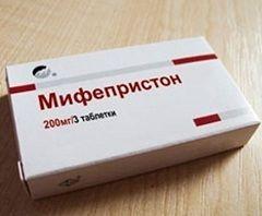 Мифепристон - аналог Гинепристона