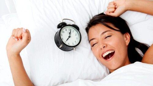 U početnoj fazi na višim tonus je potrebno osigurati čvrst san