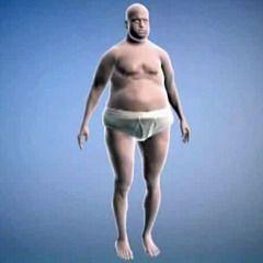 Симптом гипогонадизма у мужчин — увеличение жировой ткани