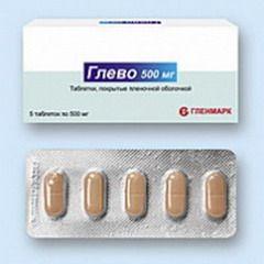 Глево в таблетках