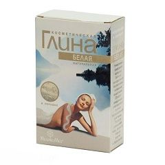 Глина белая - средство по уходу за волосами и кожей