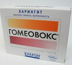 Гомеопатический препарат Гомеовокс