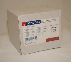 Гордокс - препарат для лечения панкреатита