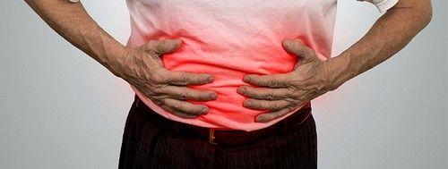 Сильные боли и спазмы в животе
