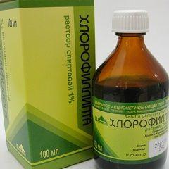 Антисептическое средство Хлорофиллипт