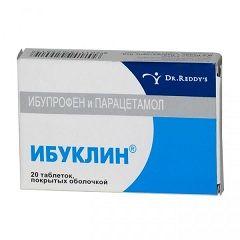 Таблетки Ибуклин для взрослых