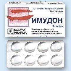 Противовоспалительные таблетки Имудон