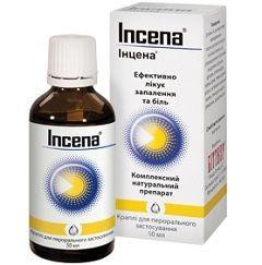 Лекарственная форма Инцены - гомеопатические капли