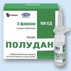 Полудан — средство для лечения иридоциклита